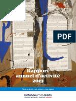 Rapport 2019 du Défenseur des droits
