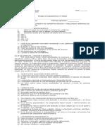 Prueba de Diagnóstico 4º medio año 2009