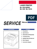 Samsung ML-1440 ML-1450 Repair Service Manual