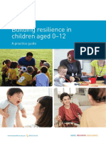 Building resilience in children aged 0–12