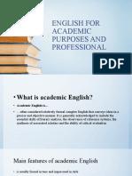 0 Academic English