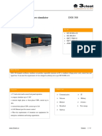 Damped oscillatory wave simulator DOS 300