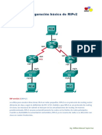 Configuración Básica de RIPv2 en Gns3