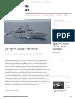 Corvette Classe «Minerva» - Coccarde Tricolori