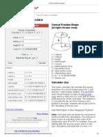 Conical Frustum Calculator