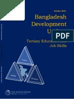 Bangladesh Economic Update World Bank Oct 2019
