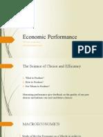 10 Economic Performance