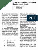 Factors Influencing Automotive Application - For introduction