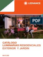 202005 Ledvance Catálogo Luminarias Residenciales Exterior y Jardin Mayo 2020