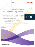 EIP SDK Self Validation Report EXAMPLE2