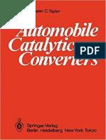 Automobile Catalytic Converters-Springer-Verlag Berlin Heidelberg (1984)
