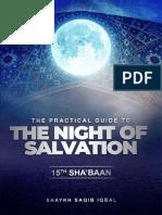 15th Sha'ban Booklet - Shaykh Saqib Iqbal