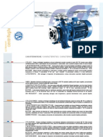 Pumps Specifications and Detail