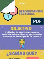 MATEMÁTICAS GUÍA 4 SEGUNDO P