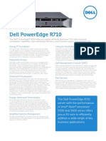 Server Poweredge r710 Specs En