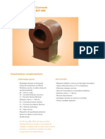 Transformador de Corrente Tipos BLP-BLR-BLS-BIF-BIR (PT)