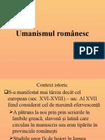 Umanismul-românesc