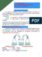 Chimie générale 2 - Solubilité-ALBOURINE