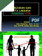 Kebijakan dan Tata Laksana Posbindu PTM.pptx