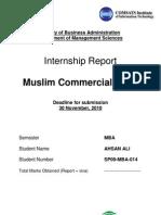MCB Final Report