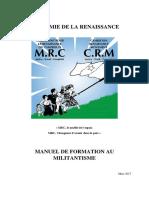 Manuel de l'Academie PRTI MRC