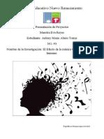 El Efecto de la música en el cuerpo humano