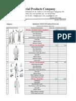 IPC_COVID 19 May 2020 Price List .....