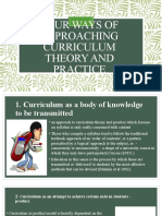 Four-ways-of-approaching-curriculum-theory-and-practice