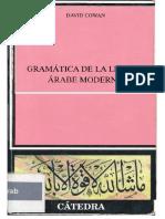 Gramatica de La Lengua Arabe Moderna - David Cowan