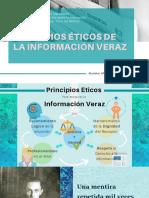 Principios Éticos de la Información Veraz