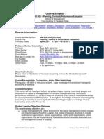 UT Dallas Syllabus for aim6341.0g1.11s taught by Mary Beth Goodrich (goodrich)