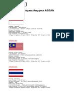 10 Negara Anggota ASEAN