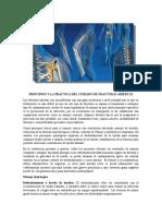 Principios y cuidados de fracturas abiertas
