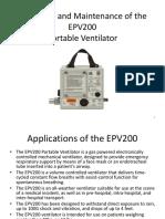 EPV 200 ventilator