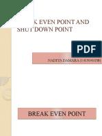 BREAK EVEN POINT AND SHUT DOWN POINT_Nadiya Damara_1415041038
