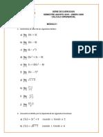 SERIE DE EJERCICIOS MÓDULO 1 (1)