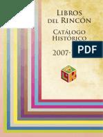 Catalogo de libros del rincon