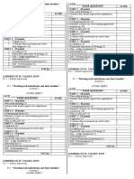 FI 1 - activity 1 _Score sheet