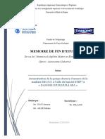 Automatisation De La Pompe Doseuse D'aromes De La Machine ERCA11 Avec  L'automate S7-200 A DANONE DJURDJURA SPA.pdf