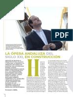 La ópera andaluza del siglo XXI