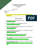 Talleres Pedagógicos _ Lengua Castellana
