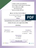 Automatisation d'un système de remplissage de quatre trémies de sucre avec supervision HMI  CEVITAL.pdf