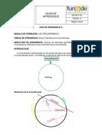 GUIA DE APRENDIZAJE 9º CIRCUNFERENCIA AREA Y PERIMETRO