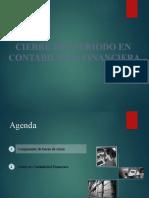 Operaciones de cierre en la Contabilidad Finanzas en SAP GUIA