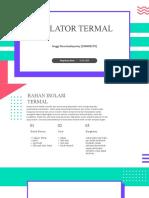 isolator termal pbt