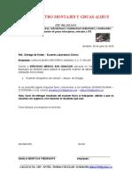 Carta para examenes psicoactivas