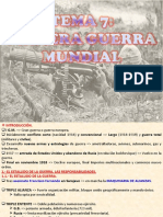 7.- PRIMERA GUERRA MUNDIAL