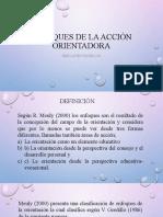 ENFOQUES DE LA ACCIÓN ORIENTADORA