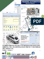 ECU TRAINING- Inyeccion Direct FSI, TSI- 2015