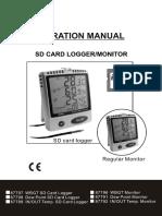Manual Higrómetro 87791